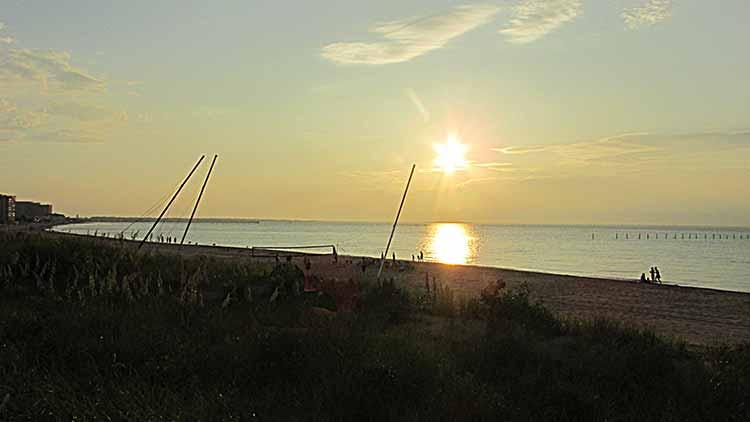 Sunset on the Chesapeake Bay - Chesapeake Bayfront Rental 2612 A Ocean Shore Ave - Virginia Beach - rentals