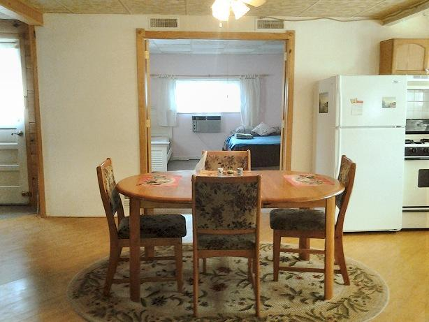 Dining area and bedroom view - Catskill Cottage Vacation Rental - Cozy Getaway - Windham - rentals