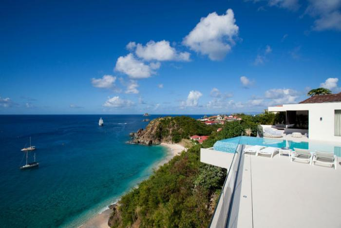 Luxury 5 bedroom St. Barts villa. Great views of the island, ocean and sunset! - Image 1 - Lurin - rentals