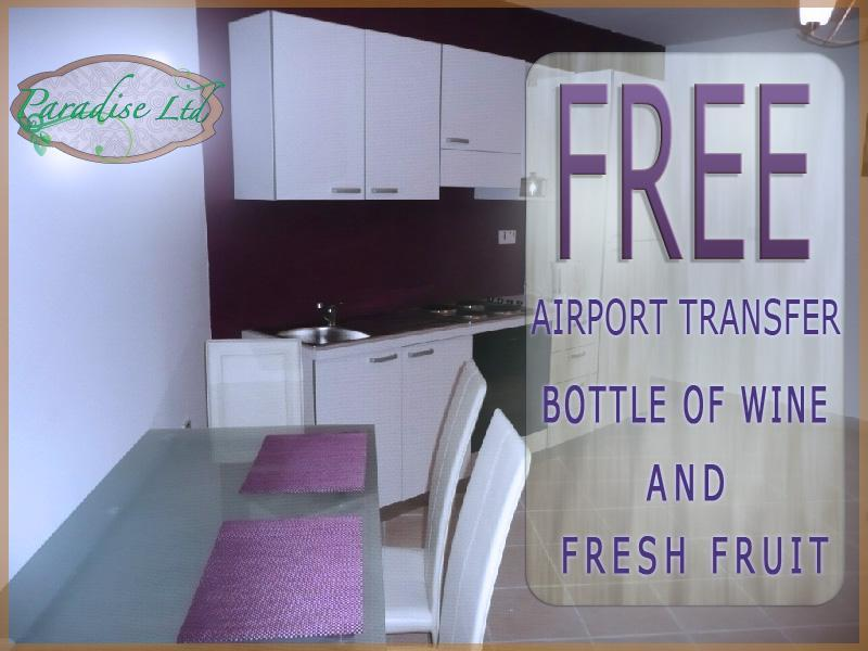 Kitchen dining - Modern Studio flat, FREE AIRPORT TRANSFER - Msida - rentals