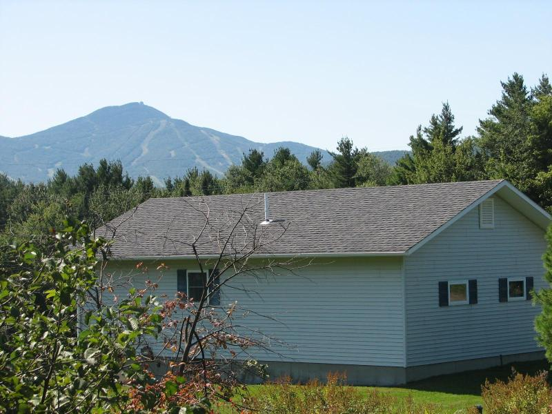 View of Jay Peak from house - Clean, cute and cozy Jay Peak view - Jay - rentals