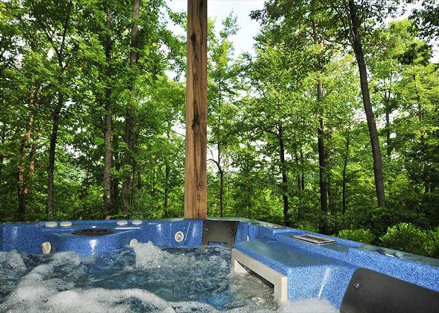 Hot Tub - Picturesque 3 Bedroom Home offers luxury accomodations in a tranquil setting! - Swanton - rentals