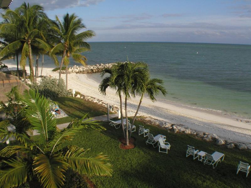 Our Private White Sandy Beach and Beautiful Blue Ocean - 2 bedroom, Beach, Florida Keys, Key West, Tropical - Key Colony Beach - rentals
