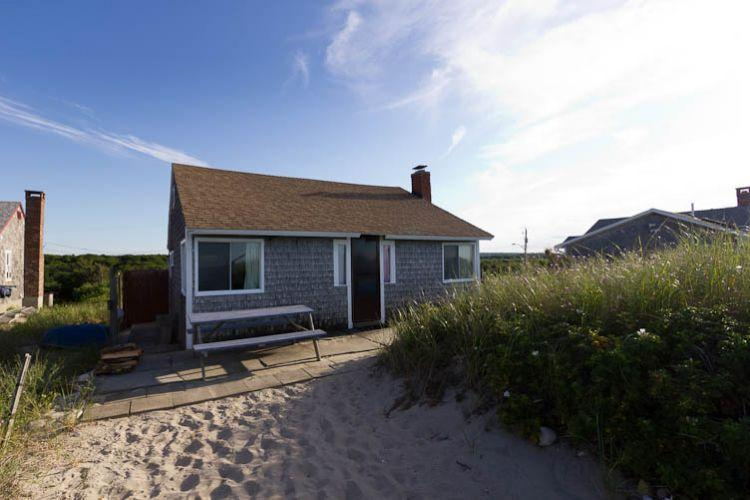 view of cottage from the beach - 111 North Shore Blvd - East Sandwich - rentals