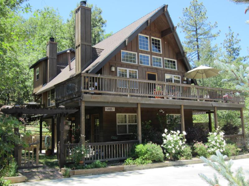 Front of home - Upscale Craftsman -WALK TO LAKE Beach Club Passes - Lake Arrowhead - rentals