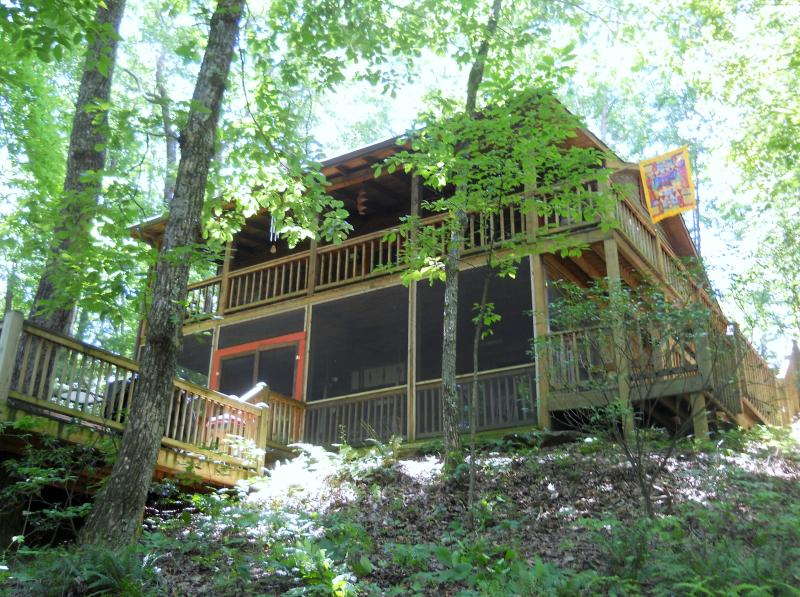 Fishing Bear Cabin - $99/night for party of 2-FISHING BEAR Cabin - Cherry Log - rentals