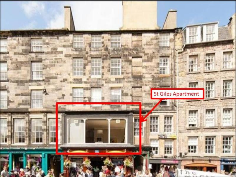 Stunning Duplex Apartment Royal Mile - Image 1 - Edinburgh - rentals