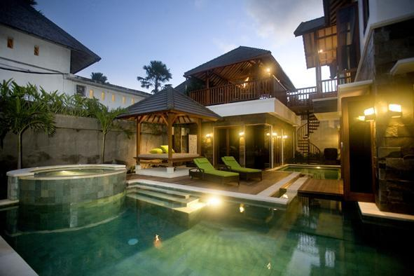Villa Interlude by Night - Villa Interlude - Luxury Private Villa - Seminyak - rentals