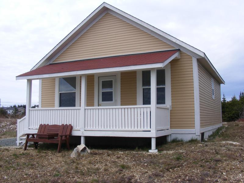 Front of cabin - Island View Cabin located in scenic Elliston,NL - Elliston - rentals