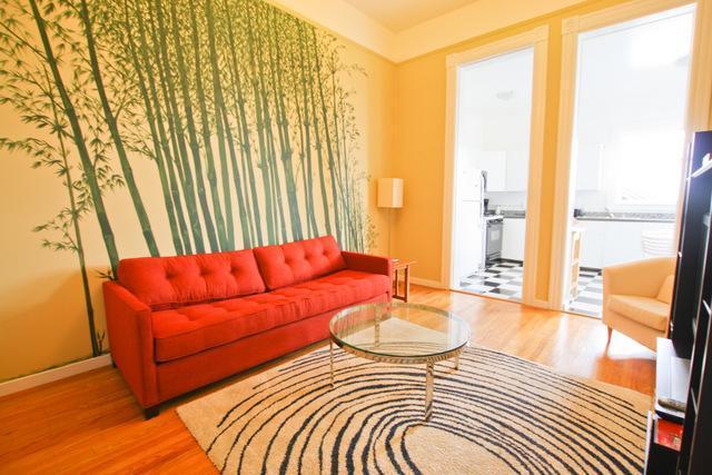 Living room - Carl St - Golden Gate Park - San Francisco - rentals