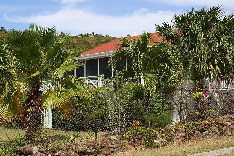With Mature Gardens, that's Palm Villa - Nevis - Palm Villa - Nevis - Nevis - rentals