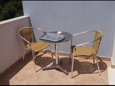 A1(2+3): terrace - 5777  A1(2+3) - Klek - Klek - rentals