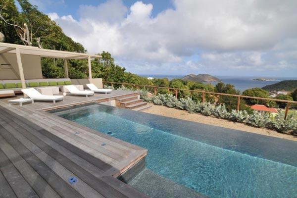 Contemporary villa with view over the ocean & Bonhomme Island WV CAS2 - Image 1 - Colombier - rentals