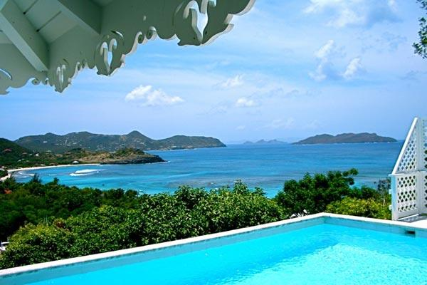 Caribbean style villa with spectacular ocean views WV MAG - Image 1 - Saint Barthelemy - rentals