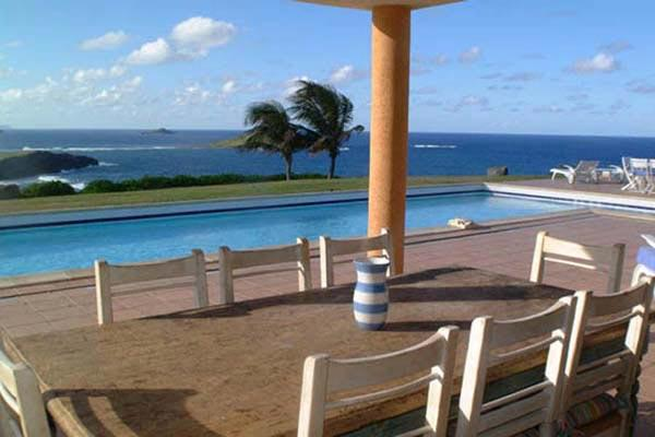 Located high in Petit Cul de Sac with great sunset views WV OUI - Image 1 - Saint Barthelemy - rentals