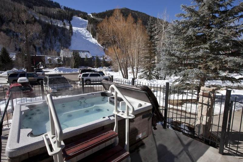 Outdoor hot tub. Perfect for after a long ski day! - TELLURIDE LODGE 407 - Telluride - rentals