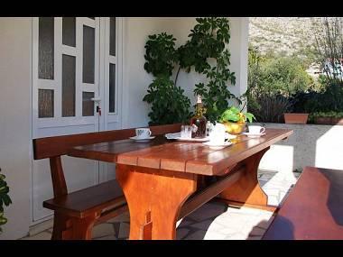A1(4): terrace - 5717 A1(4) - Zaton (Dubrovnik) - Zaton (Dubrovnik) - rentals