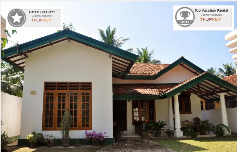 Front of house - Coconut Garden 3 bedroom house with swimming pool. - Negombo - rentals