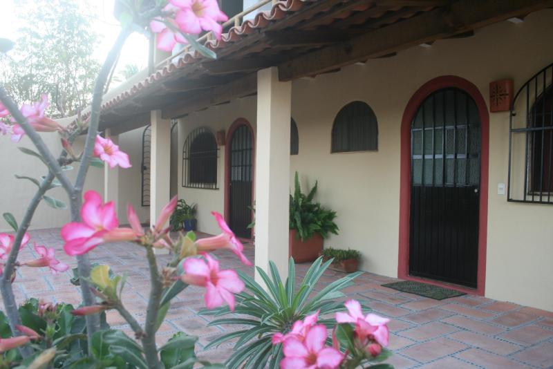 Main floor Bedroom doors - Casa Tranquila 3 BR house with pool and ocea - Sayulita - rentals