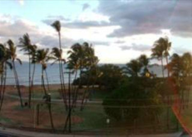 Sunset from the Lanai - Island Surf 505 ~ Best deal in town!  Ocean view with full kitchen! - Kihei - rentals