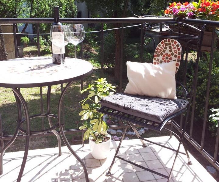 Balcony - Studio Apartment Anita - Zagreb - rentals
