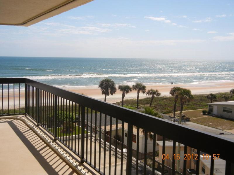 Awesome View of The Beach and Pool From Your Private Balcony - Renovated Immaculate 2 Bedroom Oceanfront Condo - Ormond Beach - rentals