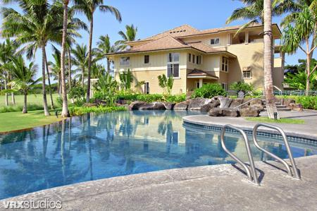 K building near vanishing edge pool sitting on Beach Course - Rent 2 Bedroom for the Price of a 1 Bedroom - Waikoloa - rentals
