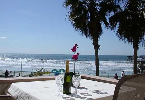 Balcony - Enjoy your own balcony with panoramic ocean and sunset views. - See the Sea #2 - San Diego - rentals