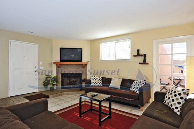 Living Room -  - Villa Pacifica - San Diego - rentals