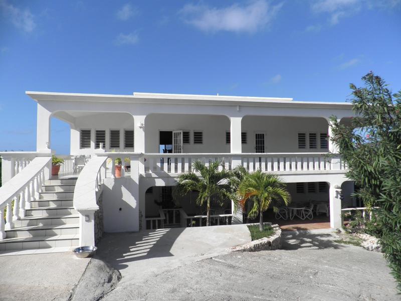 Tortue Villa  Entrance - Tortue Villa - The Valley - rentals