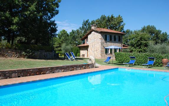 Tuscany Farmhouse with Pool for Families - Casa Leonardo - Image 1 - San Leonardo in Treponzio - rentals