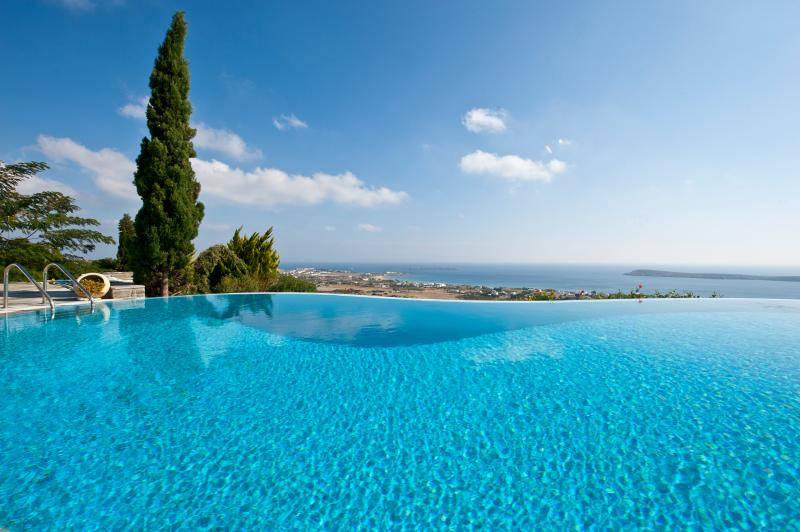 Greek Island Villa with a Private Pool and Spectacular Views - Villa Drios - Image 1 - Drios - rentals