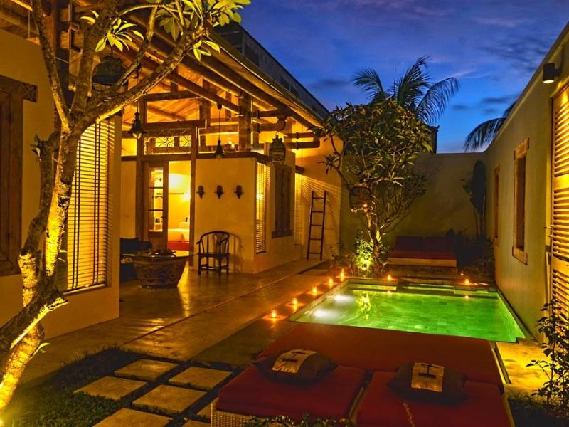 Shikumen Villa private 2 bedroom luxury villa with swimming pool in beautiful courtyard in Seminyak. - Bali Ginger Villa Private Pool Luxury Seminyak WOW - Seminyak - rentals