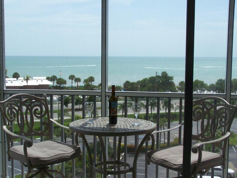 Your Gulf view from your private balcony lanai! - A Beautiful Breath-Taking Ocean View Condo - Bonita Springs - rentals
