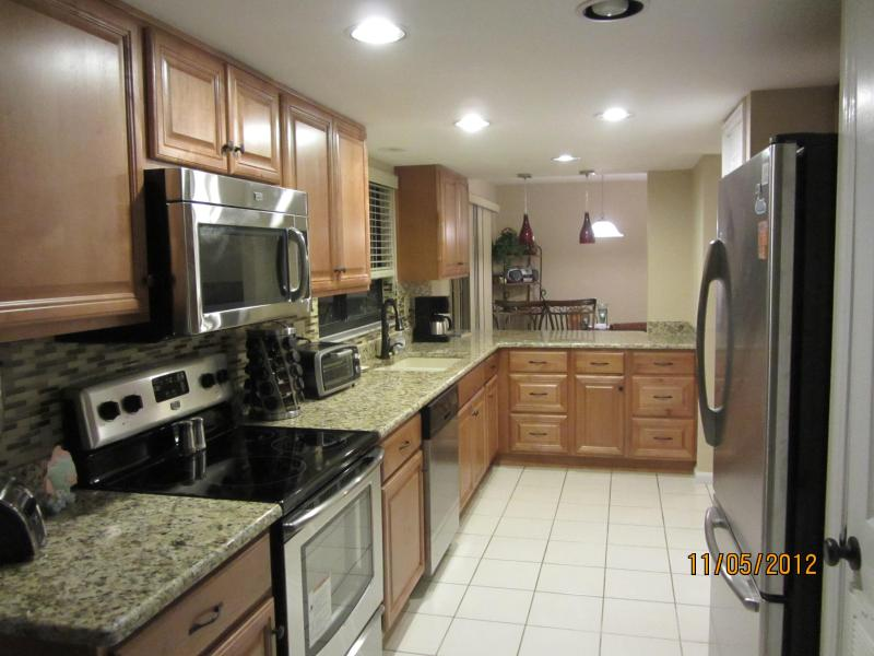 Newly Remodeles Kitchen - Gulf Condo on the Beach Newly remodeled Kit & Bath - Englewood - rentals