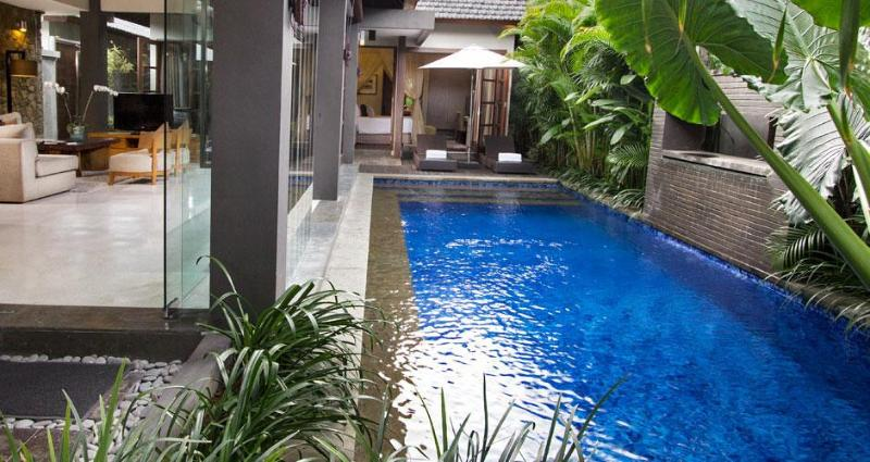 Villa Ria private swimming pool, yours to use only. Pool does come with pool fence for children - Villa Ria Seminyak - All Inclusive Private Oasis - Seminyak - rentals