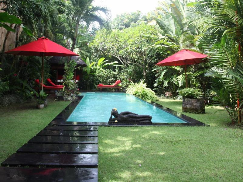 "Private pool with ""bale"" (cabana) - Villa Casa Bali-Tropical Luxury with private pool - Seminyak - rentals"