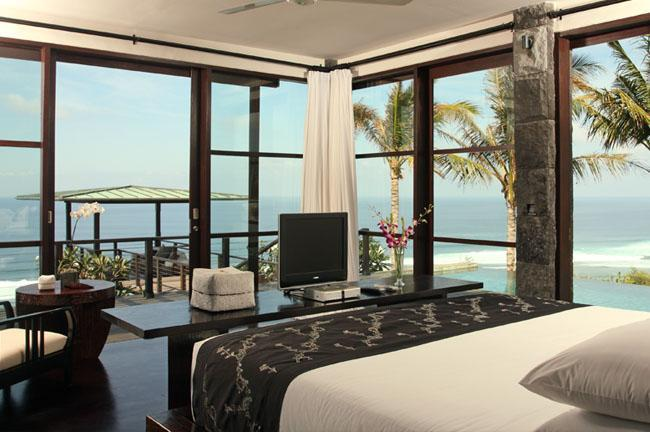 Cliff Front with Ocean view in all master bedrooms - ABSOLUTE CLIFF BEACH FRONT 5* LUXURY CHEF DRIVER - Ungasan - rentals