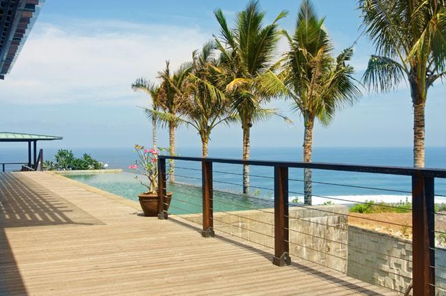 ABSOLUTE CLIFF BEACH FRONT 5* LUXURY CHEF DRIVER - Image 1 - Ungasan - rentals