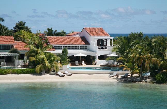 Sandy Cove at Jumby Bay, Antigua - Beachfront, Pool, Private Beach - Image 1 - Saint George Parish - rentals