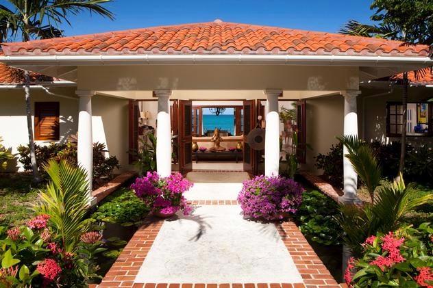 L'Acqua at Jumby Bay Beach, Antigua - Beachfront, Pool, Tropical Gardens - Image 1 - Antigua and Barbuda - rentals
