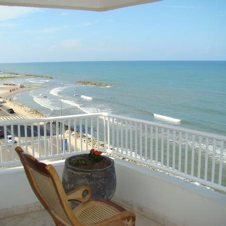 view from the terrace - Cartagena, Beautiful Condo with a spectacular vie - Cartagena - rentals