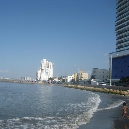 view of the apartment building - Cartagena, Beautiful Condo with a spectacular view - Cartagena - rentals