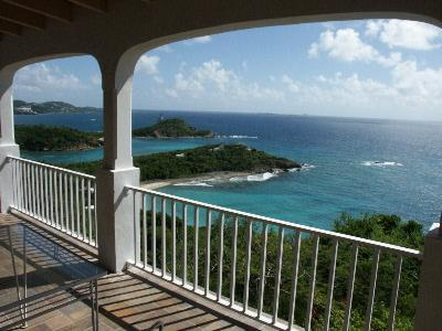 Spectacular Views of the Carribean Sea - Villa Terra Nova, Water Island. Superb Ocean Views - Water Island - rentals