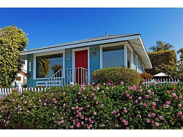 Rose Cottage with Ocean View - Image 1 - La Jolla - rentals