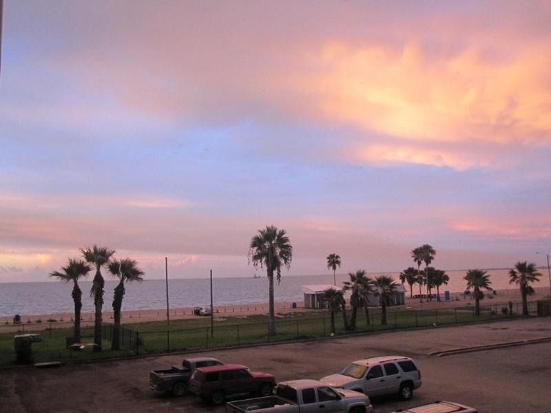 Beautiful Morning Views Of The Beach From Balcony - Great Views Of Beach and Corpus Christi #1122 - Corpus Christi - rentals