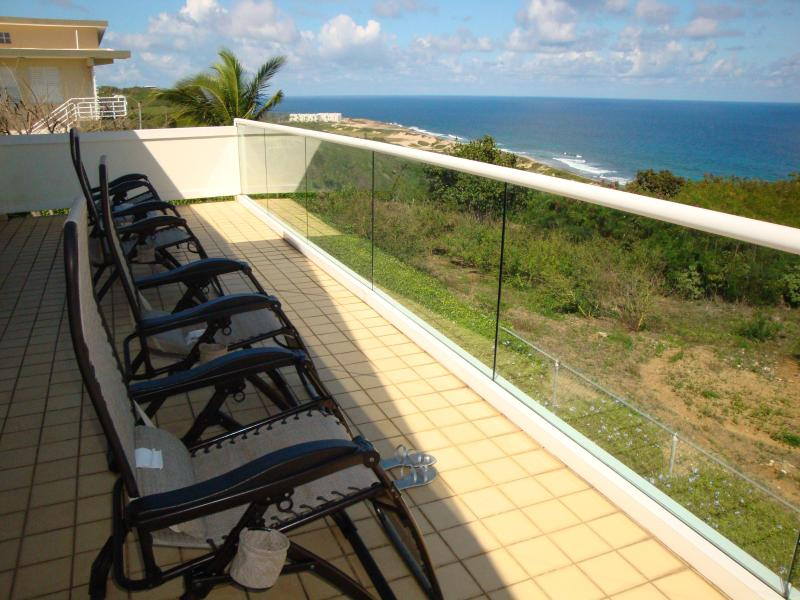 Deck - Overlooking Atlantic Ocean - Beautiful, private home overlooking the Atlantic - Isabela - rentals
