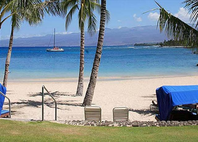 Access to the Mauna Lani Beach Club - Mauna Lani Fairways 402  - Beautiful Gated Community-MLF 402 - Kohala Coast - rentals
