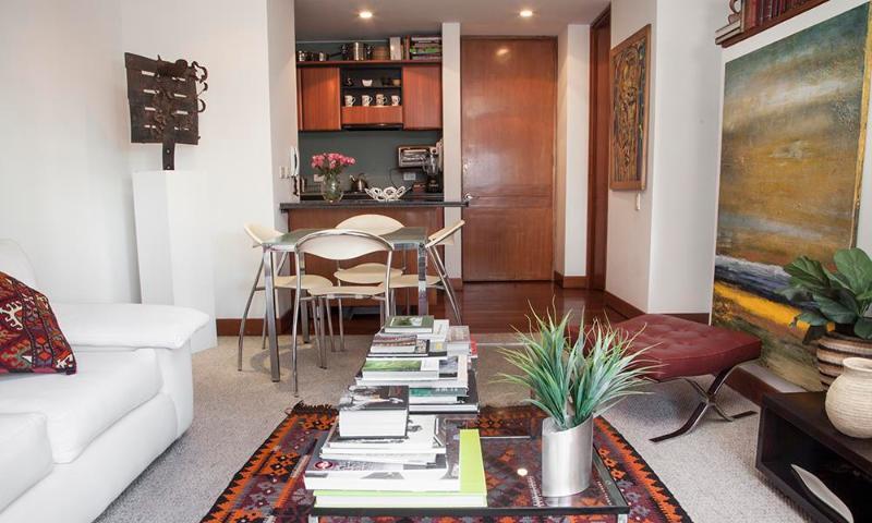 Homey Studio Apartment in La Cabrera - Image 1 - Bogota - rentals