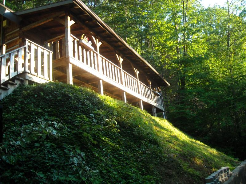 Timberwinds ! - $129/nt special - stay in a real log home ! - Gatlinburg - rentals